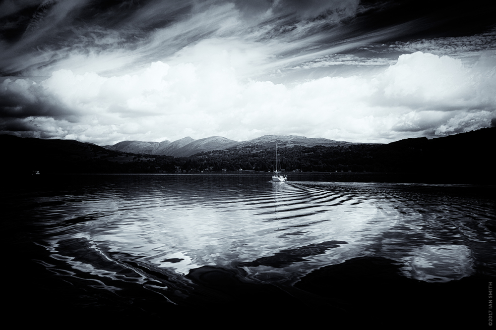Ripples on Lake Windermere, Cumbria