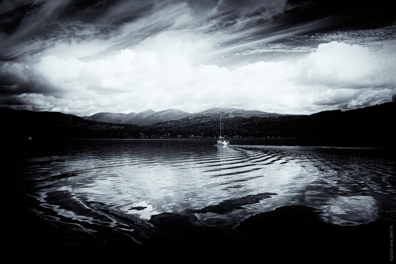 Ripples on Lake Windermere, Cumbria