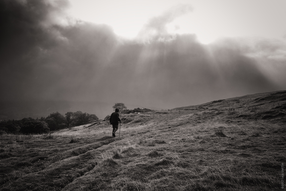 Walking with my father in the hills of Cumbria