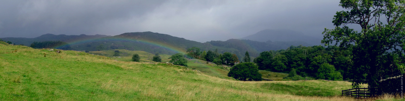 Rainbows and Mountains in the Lake District