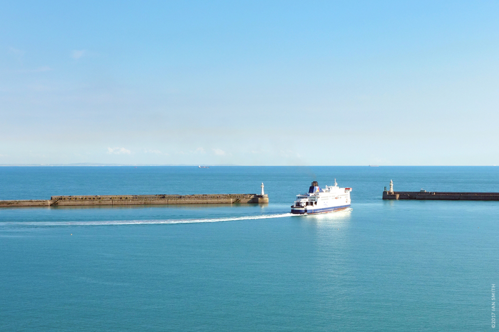 Leaving Dover Harbour