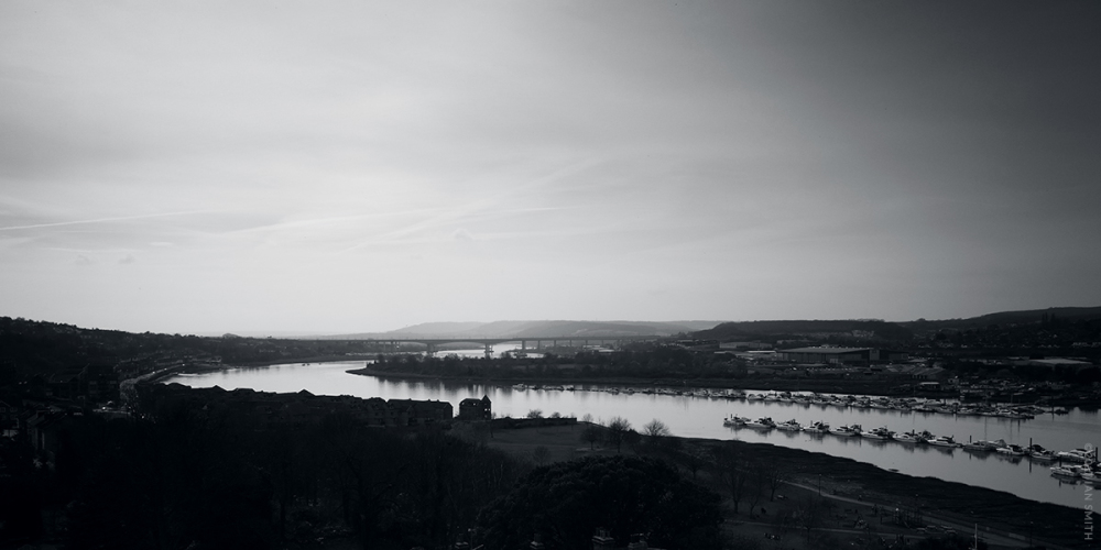 The River Medway, Rochester, Kent