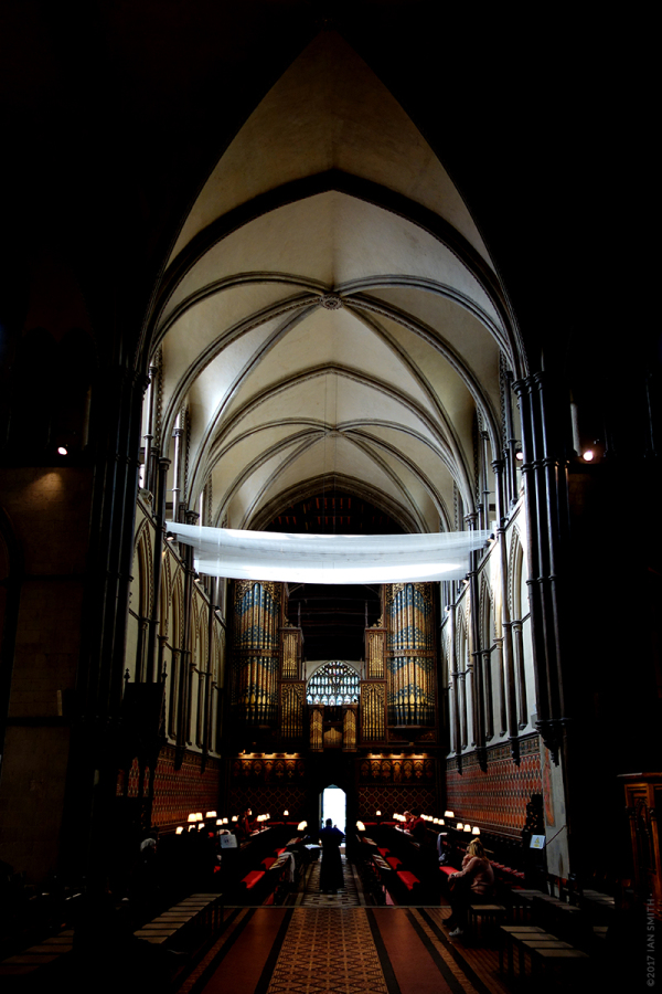 Inside Rochester Cathedral, Kent