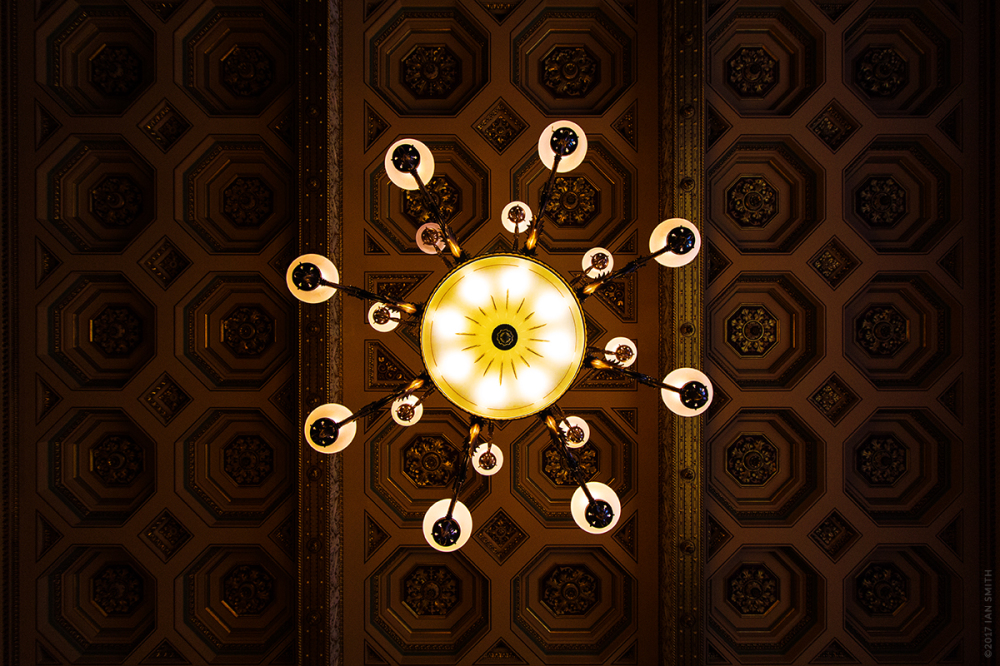 Lights & Ceiling in the Foreign & Commonwealth Off