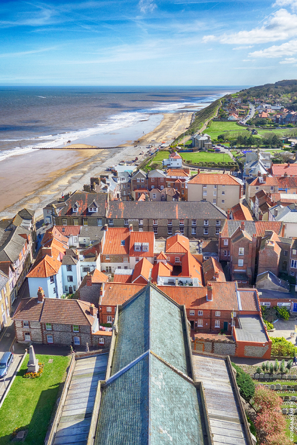 View from Cromer Church Tower, Norfolk
