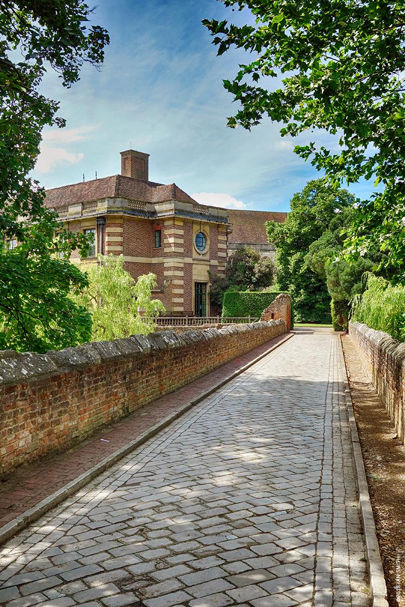 Driveway into Eltham Palace, London