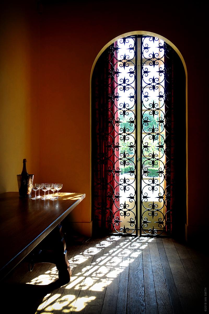 The sun shining into Eltham Palace