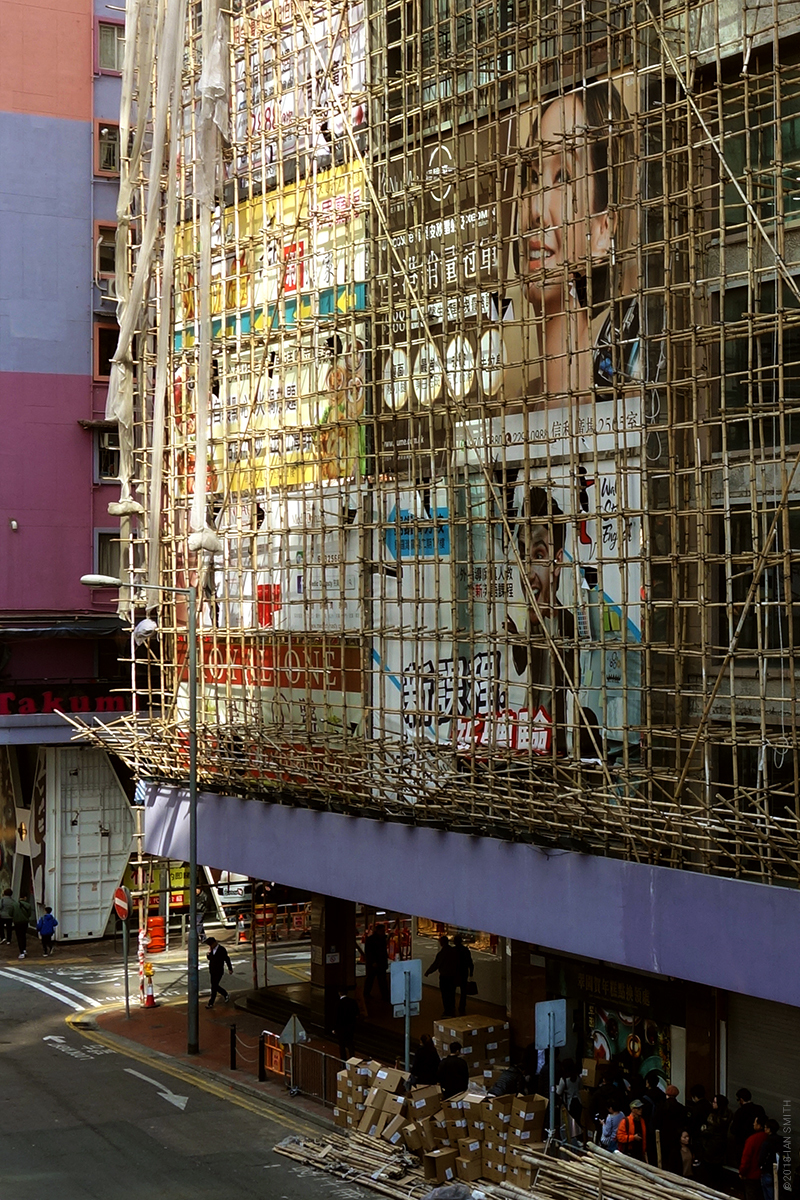 Percival Street Hong Kong Scaffolding