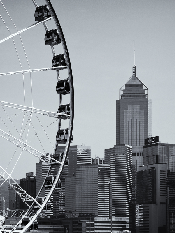 Hong Kong Observation Wheel & Central Plaza
