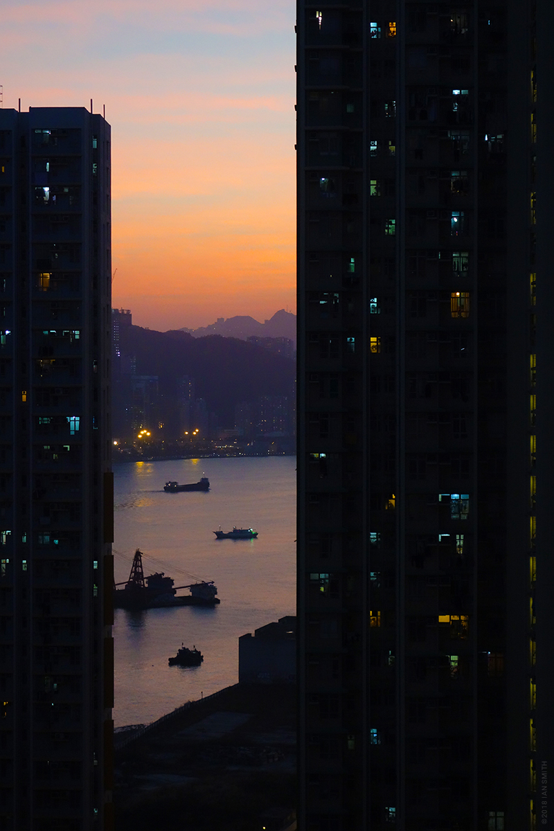 An Evening in Yau Tong, Hong Kong