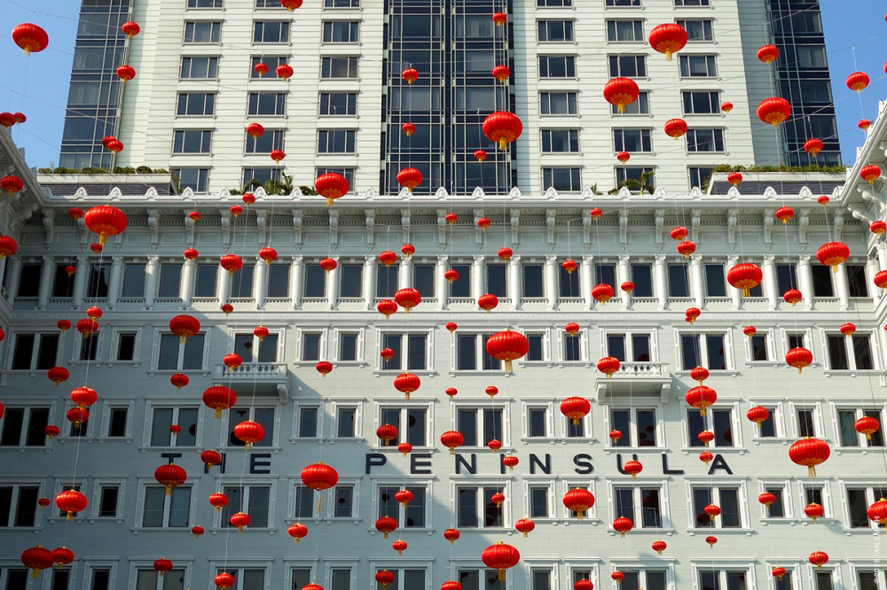 The Peninsula Hotel, Hong Kong.