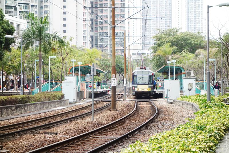Locwood Light Rail Staion, Tin Shui Wai, Hong Kong