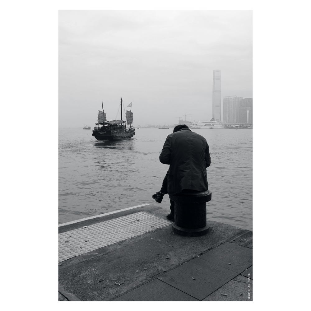 Man missed a boat in Hong Kong