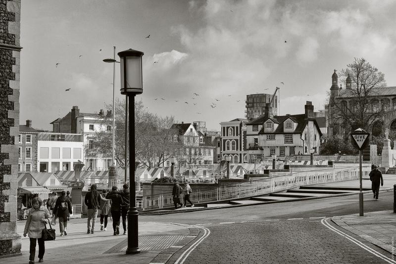 Norwich City Market Square