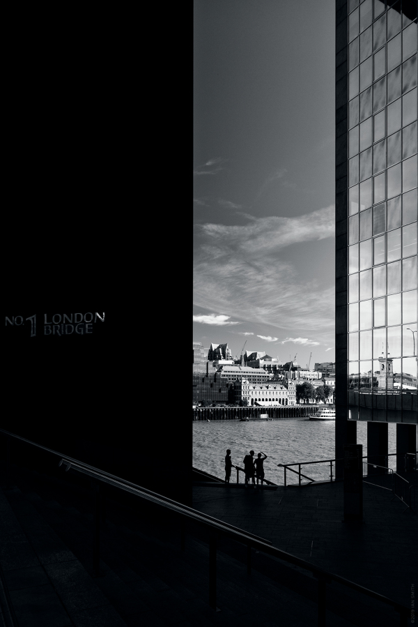 Number One London Bridge Shadows