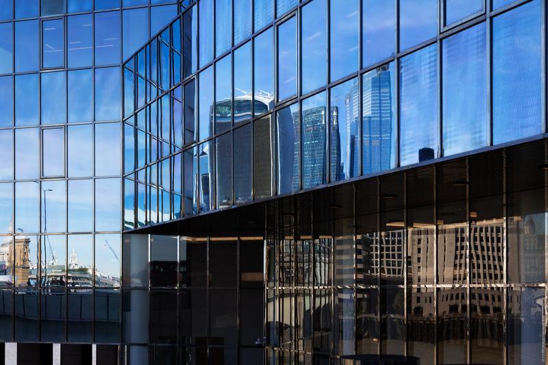 London reflected
