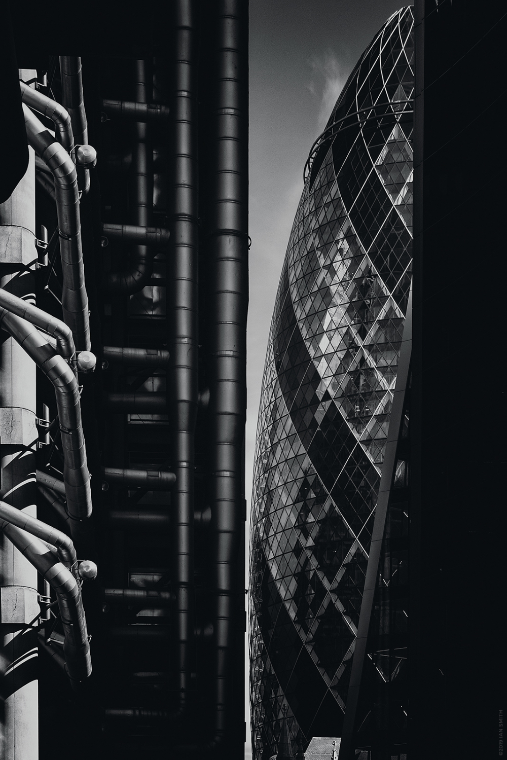 Lloyds Building and The Gherkin London