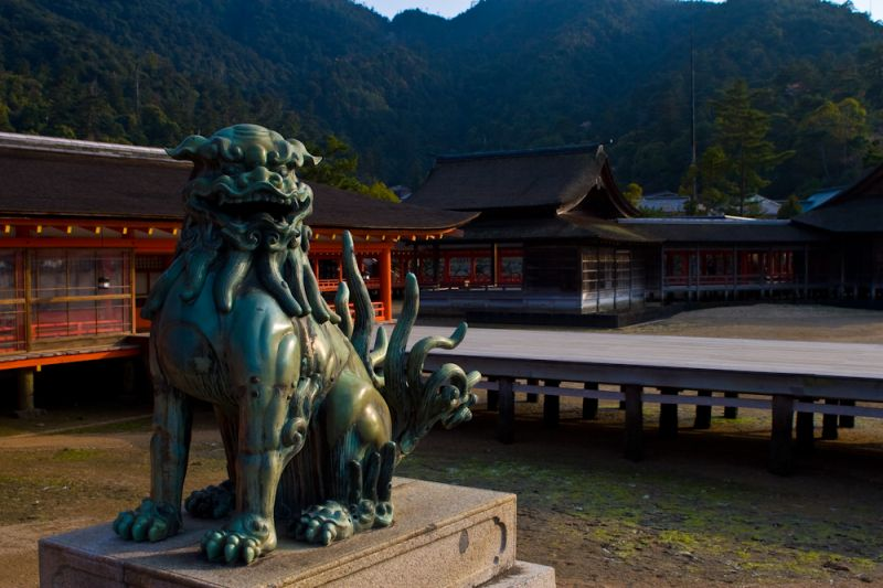 Itsukushima shrine in Miyajima Japan