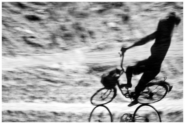 bike, shadow, speed, fast, blur