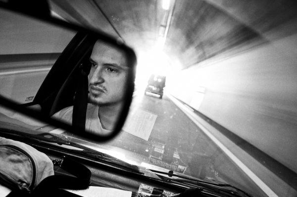 drive, mirror, tunnel, pivka, izola, slovenia
