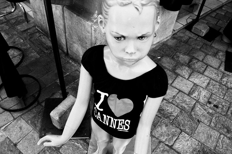 cannes, doll, angry, love, france, street