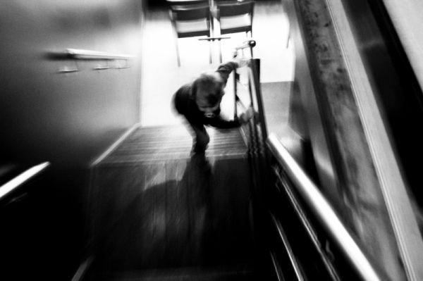waterford, ireland, kid, stairs