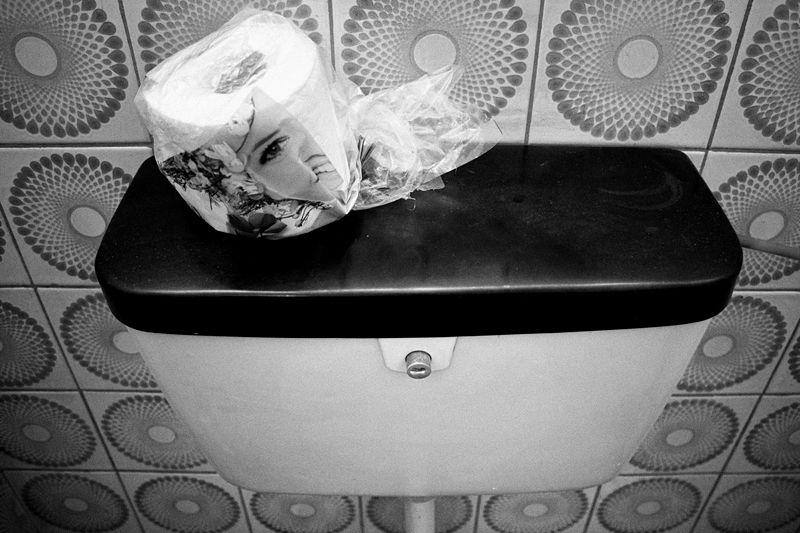 toilet, paper, smile