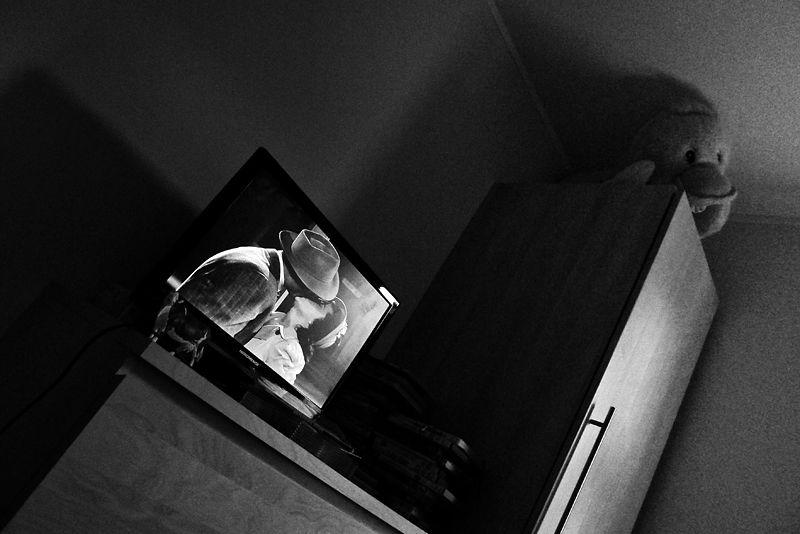 movie, kiss, duck, toy, tv