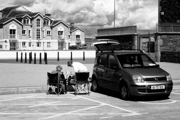 tramore, beach, ireland, picnik