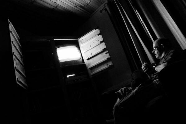 televison, tv, telly, night, watch