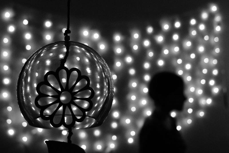 silhouette, budapest, girl, light