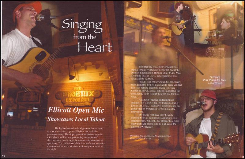 Ellicott Open Mic
