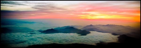 Witness the Sunrise over Japan
