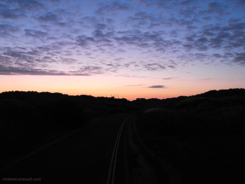 sunrise at the sea side