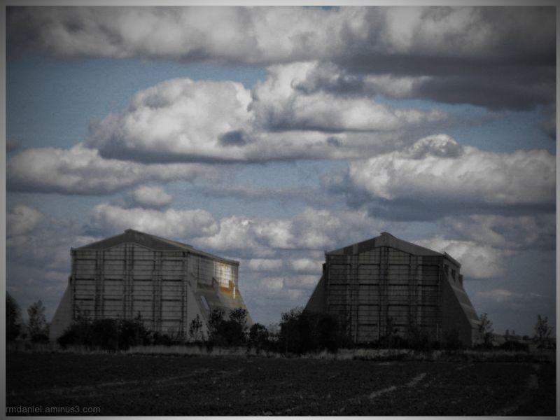 Cardington airship hangers