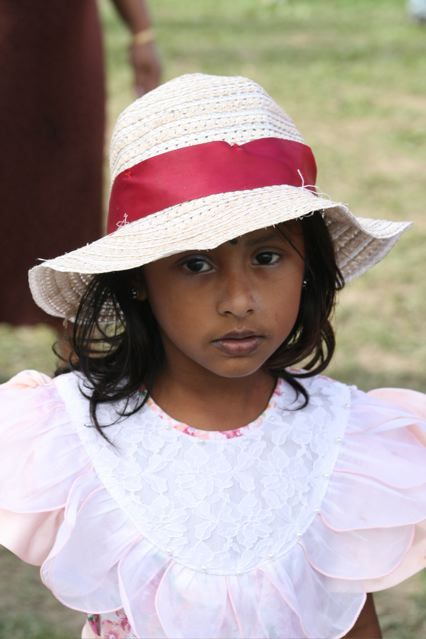 little girl from the 09 hibiscus festival, suva