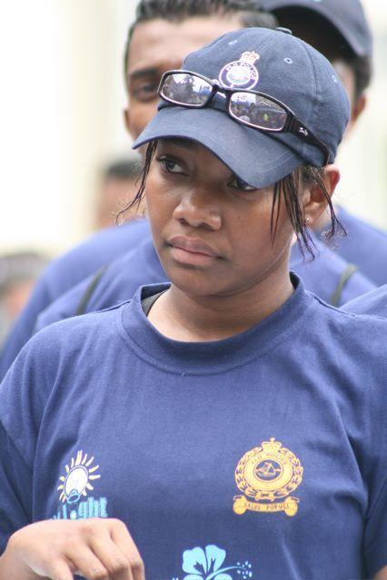 fiji police cadet