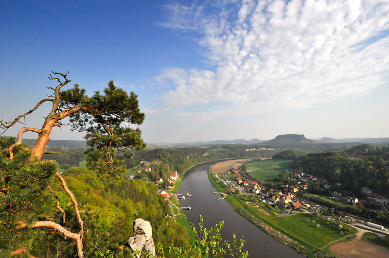 Elbe valley