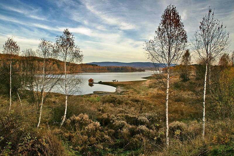 vlasina lake vlasinsko jezero