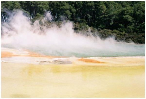 rotorua New Zealand Hot springs