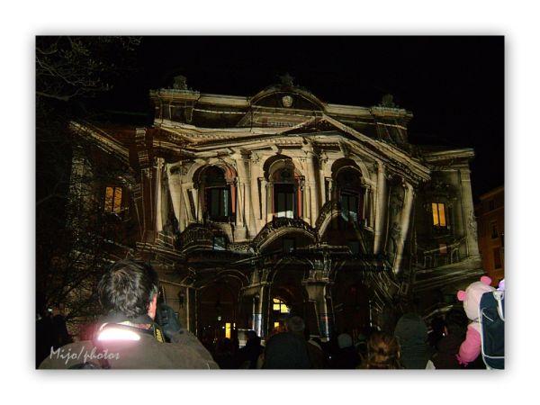 Fêtes des lumières Lyon : le théatre des Célestins
