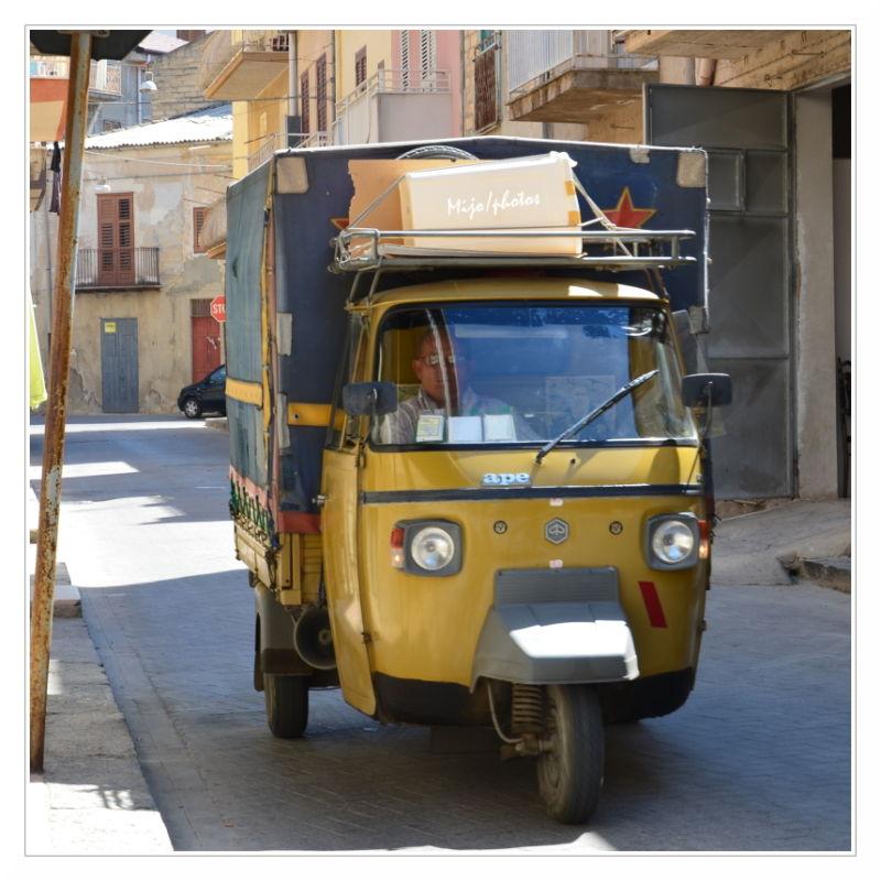 Sicile /7 : Le triporteur