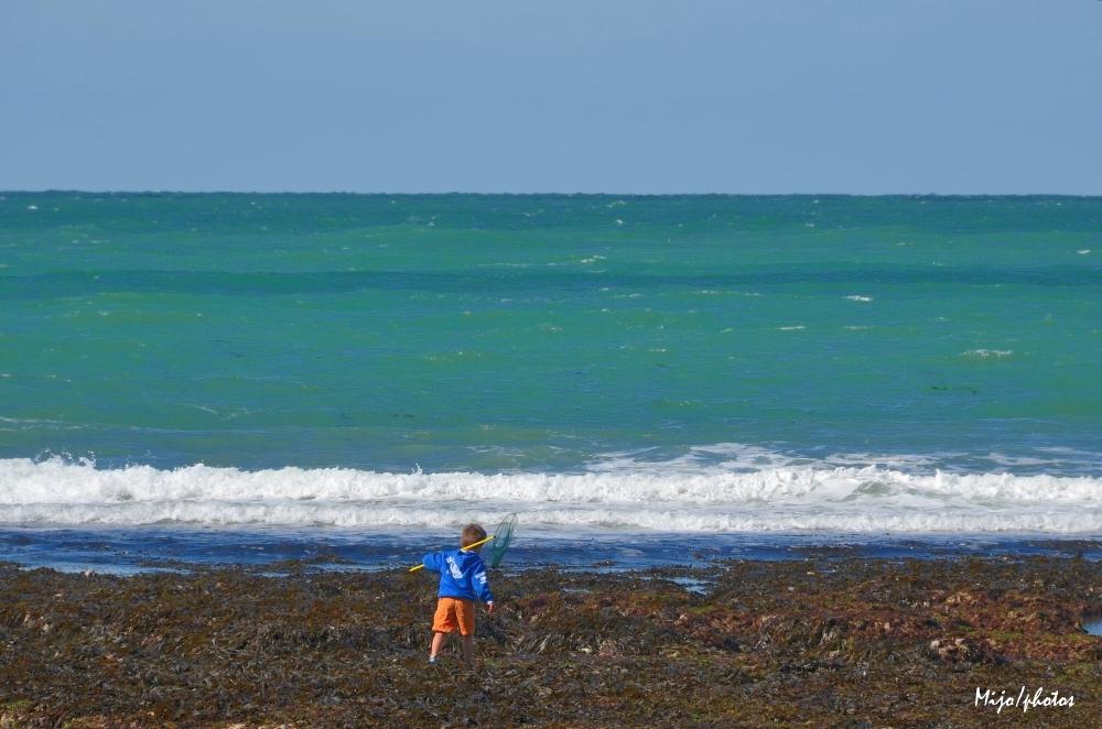 Normandie /3 : Quand la mer se retire