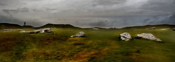 Arbor Low in Derbyshire