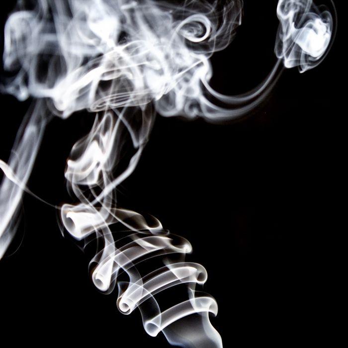 smoke skeleton