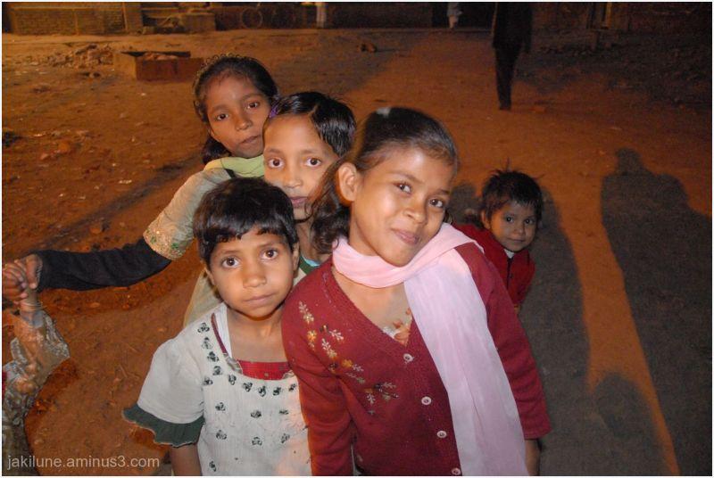 L es enfants du Rajasthan