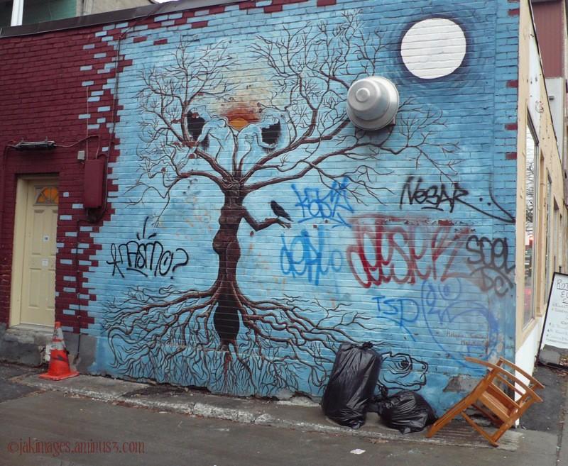 les murales - Montréal
