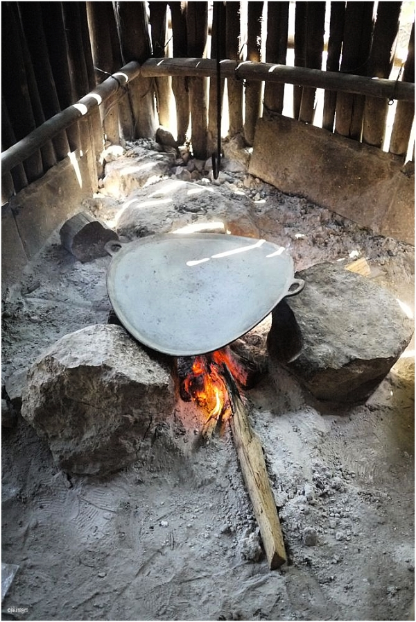 Le brasero pour les tortillas
