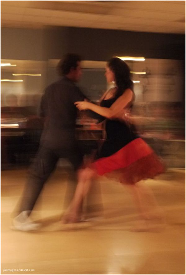 Tango is in the air