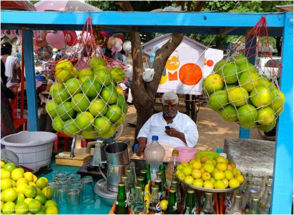 Le vendeur de citron ( Madras)